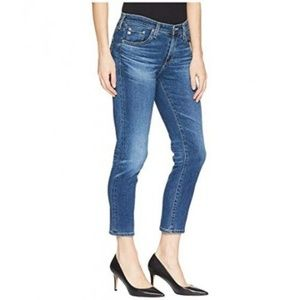 AG Adriano Goldschmied Prima Crop Mid Rise Jean 25